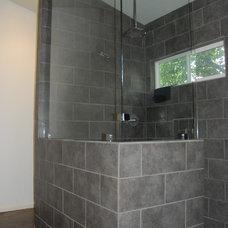 Contemporary Bathroom by Kara Mosher