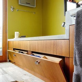 Aménagement d'une salle de bain classique.
