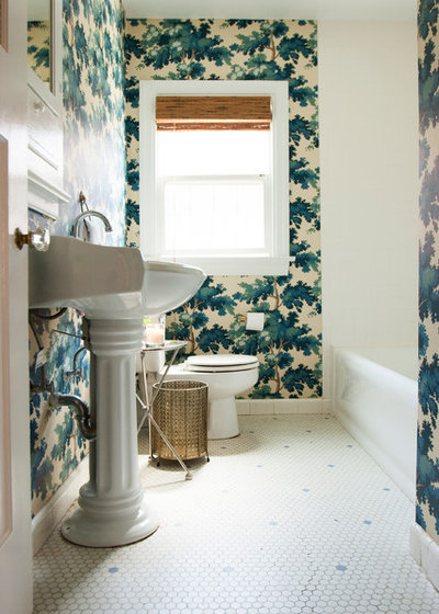Eclectic Bathroom by Le Michelle Nguyen