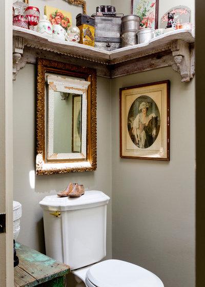 Кантри Ванная комната by Rikki Snyder