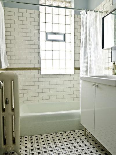 Removing bathroom tile floor - Traditional Bathroom By Cynthia Lynn Photography