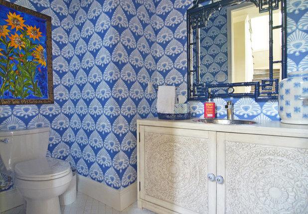 Fabulous Eclectic Bathroom by Sarah Greenman