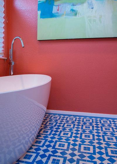浴室 by Margot Hartford Photography