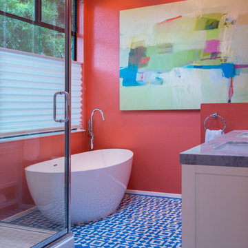 My Houzz: Colorful Cottage in Northern California