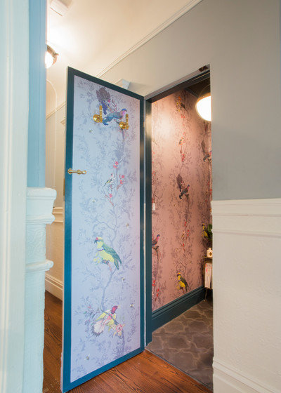 Eclectic Bathroom by Le Klein