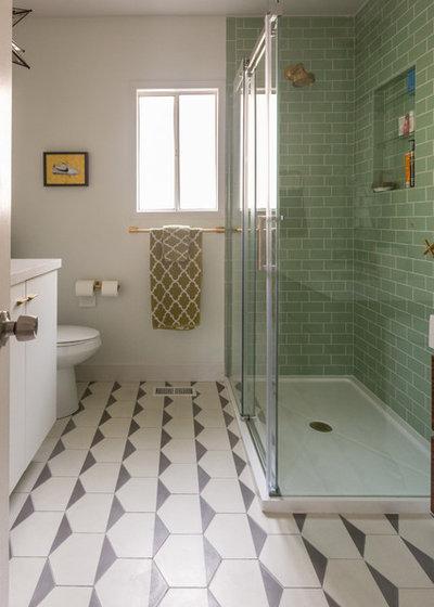 Eclectic Bathroom by Lauren Edith Andersen, Photographer