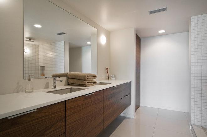 Modern Bathroom by Lucy Call