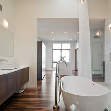 Modern Bathroom by Lucy Call