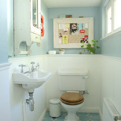 eclectic bathroom by Holly Marder