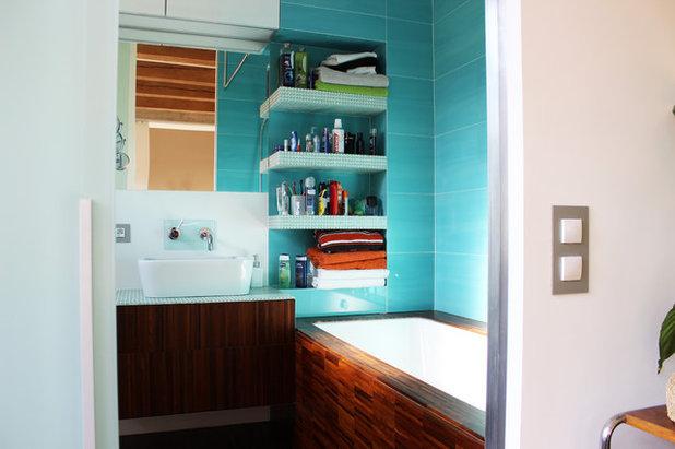 Industrial Bathroom by Martin Hulala