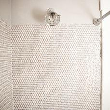 Traditional Bathroom by Tess Fine