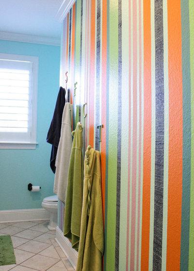Cool Contemporary Bathroom by Mina Brinkey