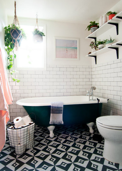 Eclectic Bathroom by Alexandra Crafton
