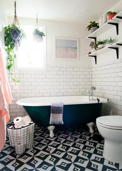 Ecléctico Cuarto de baño by Alexandra Crafton
