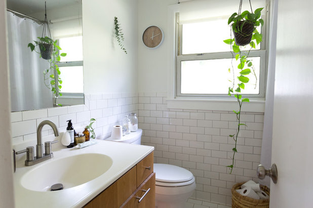 Beautiful Eclectic Bathroom by Jessica Cain