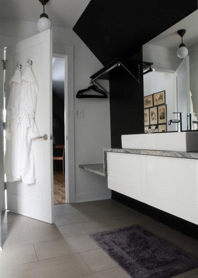 Industrial Bathroom by Kayla Pearson