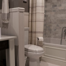 Transitional Bathroom by Angela Flournoy