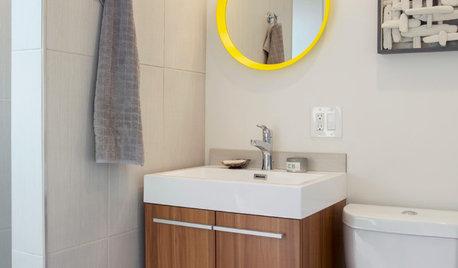 Bathroom Vanity Weird Space