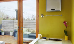 My Houzz: Exterior View from Bathtub