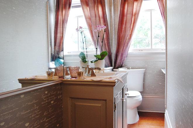 Traditional Bathroom by Corynne Pless