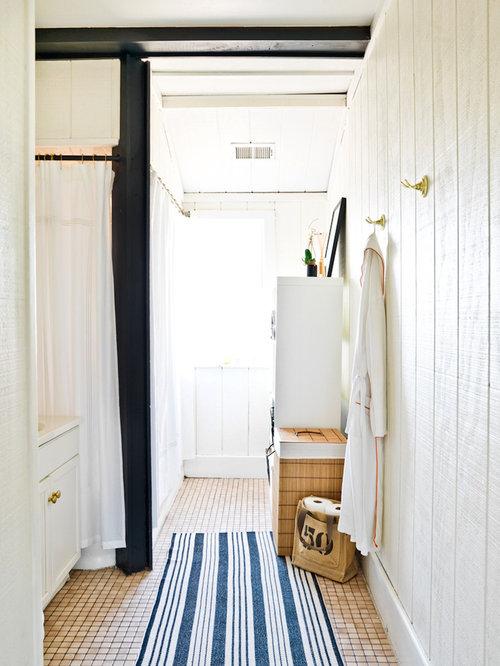 Wood Panel Bathroom Houzz