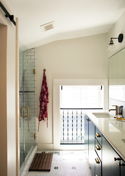 Industrial Bathroom by Parisi Images