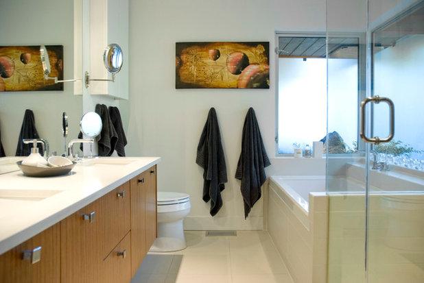 Contemporary Bathroom by Heather Merenda