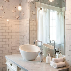 Eclectic Bathroom by Adrienne DeRosa