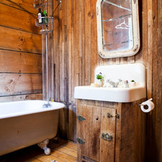 Farmhouse Bathroom by Tess Fine