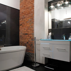 contemporary bathroom by Esther Hershcovich