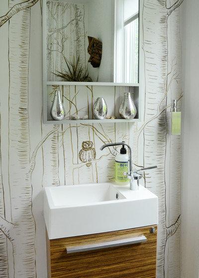 Eclectic Bathroom by Design Fixation [Faith Provencher]