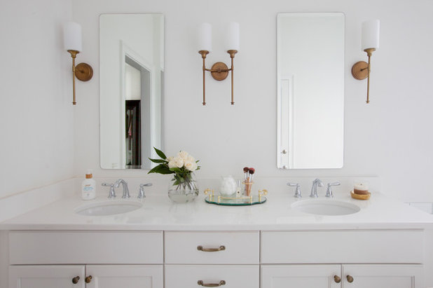 Traditional Bathroom by Margaret Wright Photography