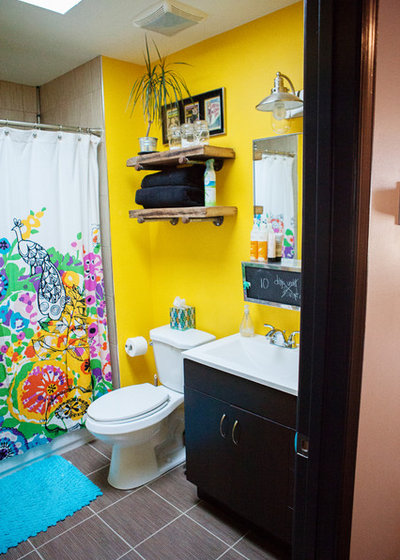 Eclectic Bathroom by Edwina Benites-LM