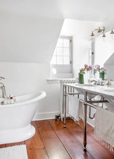 Farmhouse Bathroom by Rikki Snyder