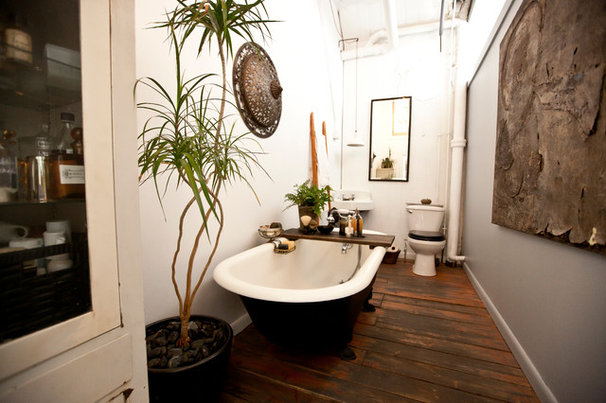 Industrial Bathroom by Chris A. Dorsey Photography