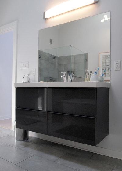 Elegant Contemporary Bathroom by Kayla Stark