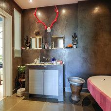 Eclectic Bathroom My Houzz: