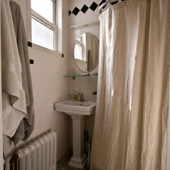 eclectic bathroom by Chris A. Dorsey