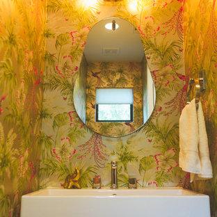 Foto di una stanza da bagno minimalista