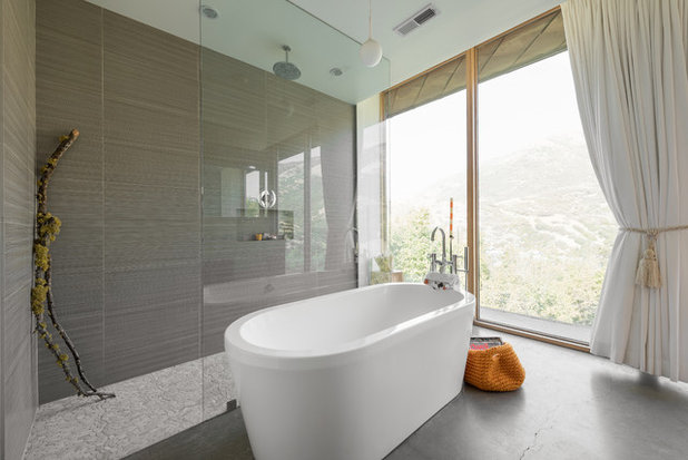 Contemporary Bathroom by Lucy Call