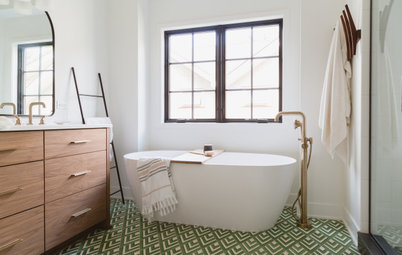 6 Beautiful Master Bathrooms With Double-Vanity Setups