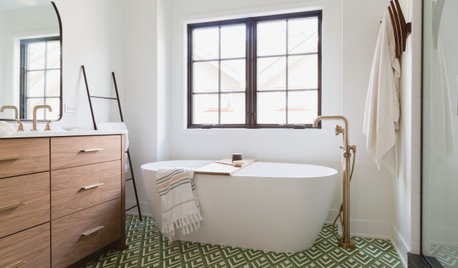 6 Beautiful Master Bathrooms With Double-Vanity Setups
