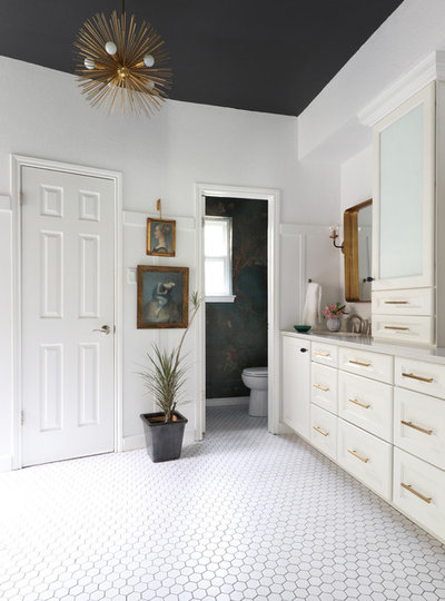 Eclectic Bathroom by Kristin Laing