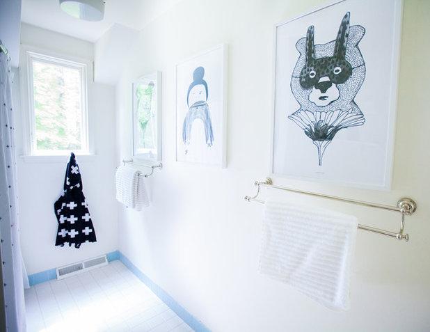 Elegant Scandinavian Bathroom by Elaine Musiwa