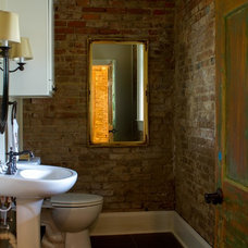 Traditional Bathroom by Anna Addison Photography