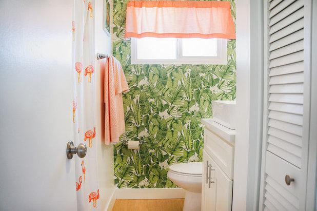 Midcentury Bathroom by STRUKTR Studios Photography