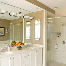 Transitional Bathroom by Cynthia Lynn Photography