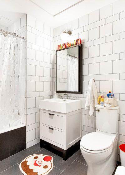 Eclectic Bathroom by Rikki Snyder