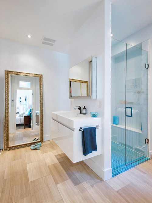 No Tile Shower Houzz