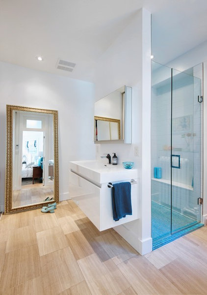 Contemporary Bathroom by Andrew Snow Photography